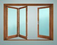 Folding sliding doors